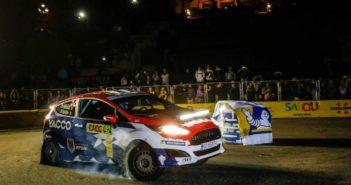JB in azione sulle strade del Catalunya nella stage by night di Barcellona.