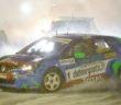 La Renault Captur di un Dubourg scataneto nella finalissima di gara due