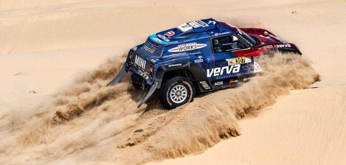 Kuba in azione sulle dune di Dubai con la Mini Buggy
