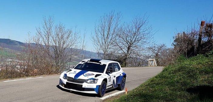 Il Piemontese Gianluca Taavelli al debutto sulla Skoda Fabia R5