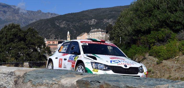 La Fabia R5 Motorsport Italia è la regina di Corsica.