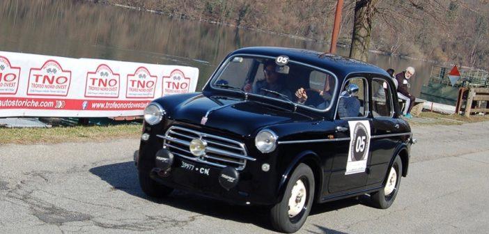 La Fiat 1100/103 di Bonfante in azione.