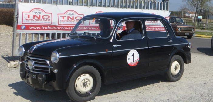 La Fiat di Bonfante in azione