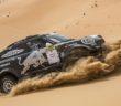 La Mini Countryman del vincitore sulla sabbia di Abu Dhabi