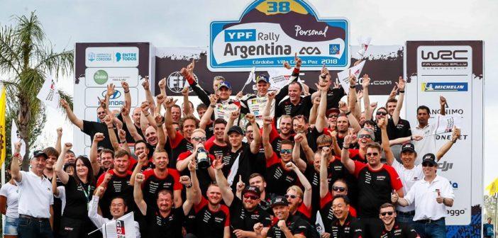 Il rally di Argentina riparte dal ricordo del podio 2018