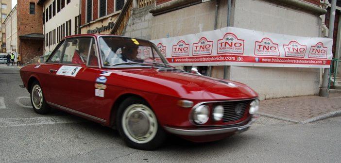 La Lancia Fulvia Coupé del vincitore Fontana.