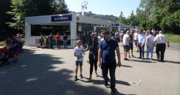 Tutto esaurito agli stand all'aperto del Parco Valentino Motor Show.