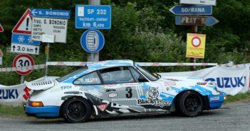 La Porsche di Da Zanche sulle strade Biellesi