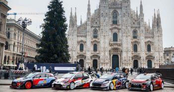 Le stelle del mondiale in posa davanti al Duomo nel Monza 2018