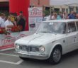 L'Alfa Romeo Giulia dei vincitori.