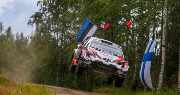 Tanak in Finlandia continua a volare.