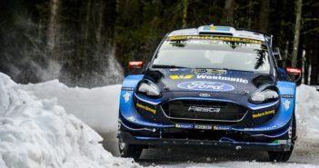 Tidemand in Svezia nella sua ultima uscita al volante della Fiesta +