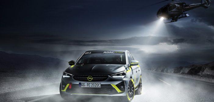 La Opel Corsa-e Rally Concept si prepara per Francoforte.