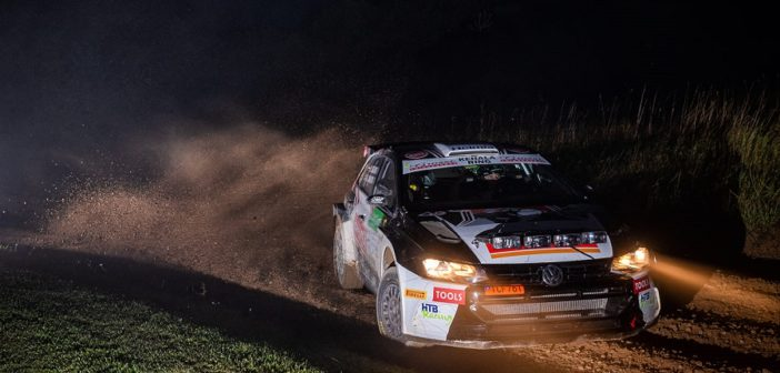 Oliver Solberg vola anche by night.