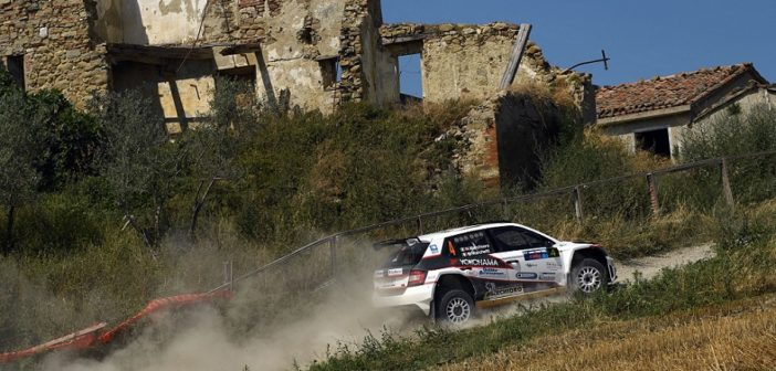 Nicolo Marchioro, in azione sulla terra di San Marino