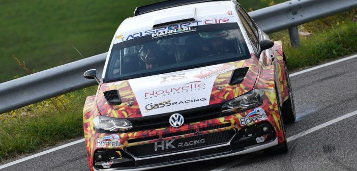 Andrea Crugnola ad Erbezzo mette la sua VW Polo R5 alla frusta
