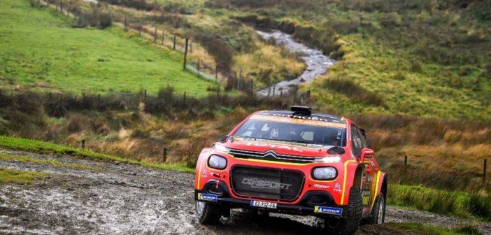 La Citroen C3 R5 di Ostberg uno dei grandi protagonisti del WRC2 Pro