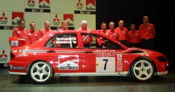Cowans al centro di un team che ha fatto storia nei rally moderni.