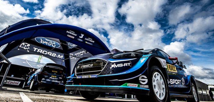 Le Fiesta entrano nel service di Salou con i nuvoloni ancora sulla testa.
