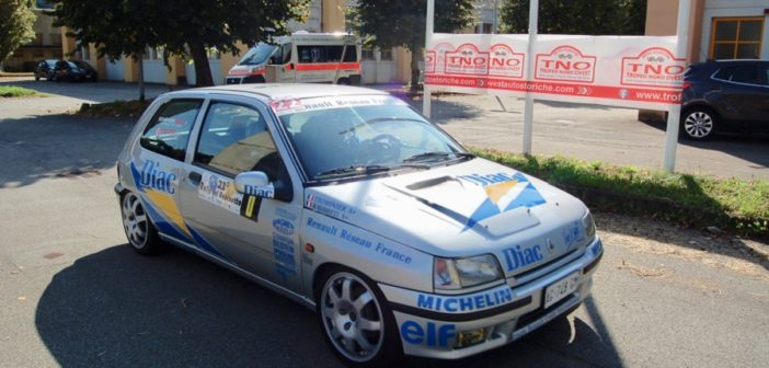 La Renault di Clio Sommaruga al Memorial Pozzi.