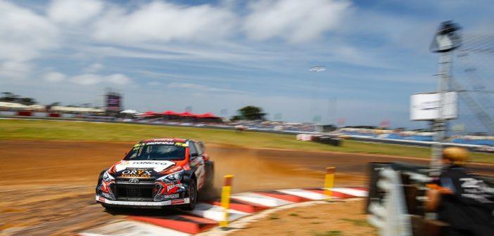 La Hyundai di Gronholm vince l'ultimo round WRX in Sudafrica