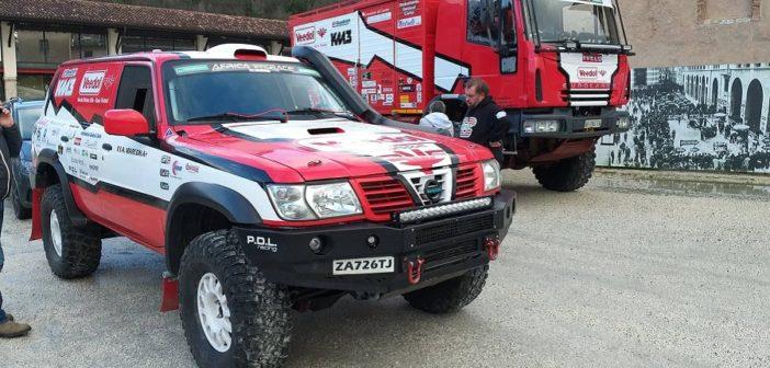 Il team Rossi alla presentazione degli equipaggi Italiani al museo Mille Miglia.