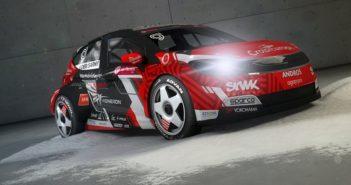 La nuova vettura elettrica della Loeb Racing che debutterà a Val Thoerens.