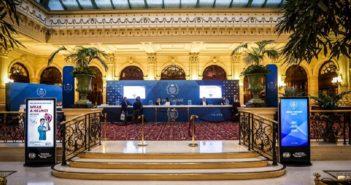 La Hall di Parigi all'apertura del WMSC