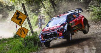 Mads Ostberg nella sua ultima usciata al volante di un plus nel WRC (Australia 2018)
