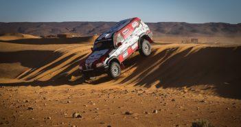 Il Patrol di Rossi Marcon sulla sabbia Marocchina.