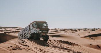 Bouwens ed il gigante buono tra le dune.