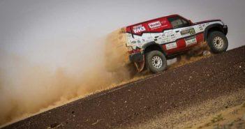 Il Patrol del nostro Stefano Rossi nel deserto della Mauritania.