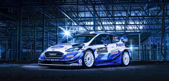 La nuova livrea della Fiesta by M-Sport 2020.