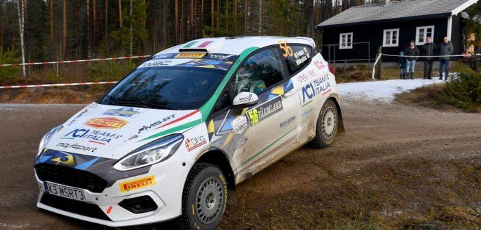 Marco Pollara alle prese con le speciali Svedesi.