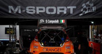 La Fiesta R5 di Campedelli sotto le tende M-sport nel CIR 2019