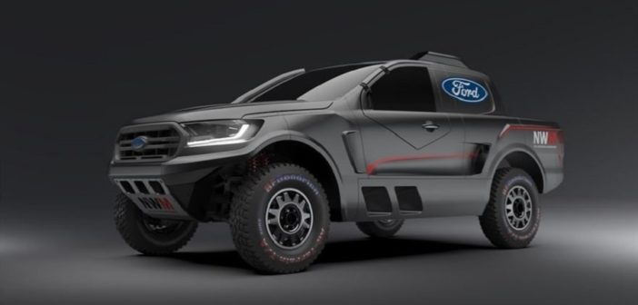Il nuovo Ford Ranger by Ford Castrol Cross Country Team.