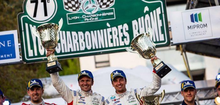 Il podio 2019 del Lyon Charbonnieres