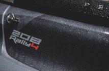 La 208 è la prima a portare il marchio di classe rally4, ma..