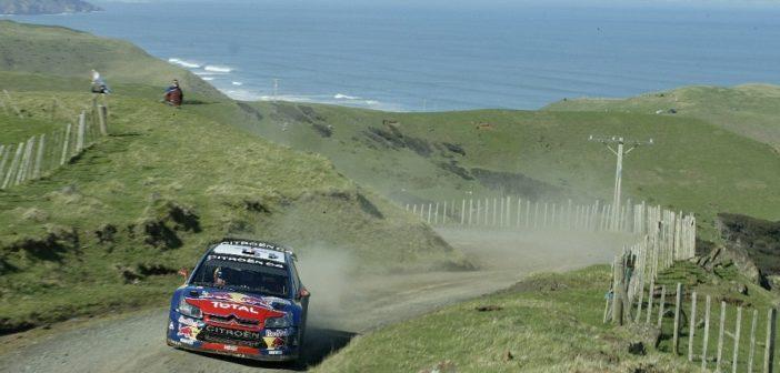 Uno degli scorci più suggestivi della Nuova Zelanda ai tempi del WRC.