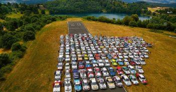Una delle tante cartoline dell'Eifel Rallye Festival