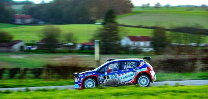Il vincitore del rallye del Touquet e leader del campionato Yoann Bonato.