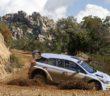 La Hyundai i20 R5 nei test di sviluppo a novembre 2019