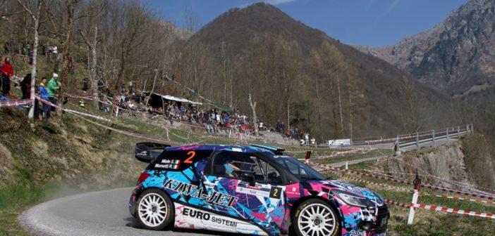 Simone Miele grande protagonista del CI WRC al 1000 Miglia.
