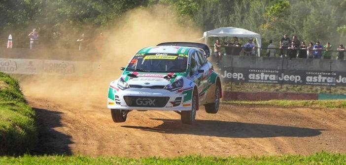 La Kia supercar di Gigi Galli protagonista della passata stagione di rallycross.