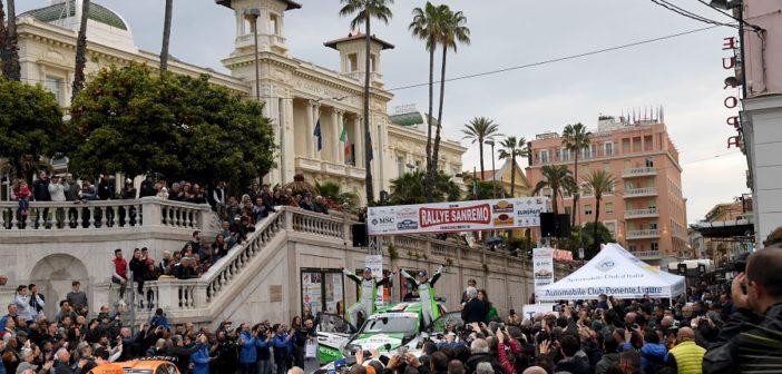 La pedana di arrivo del Sanremo 2019 una delle gare candidate alla doppia validità.