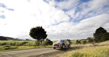 Uno dei suggestivi scorci delle colline neo zelandesi nelle sue ultime apparizioni nel WRC.