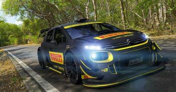 Pirelli si prepara ai test per il WRC marchiando una delle Citroen C3 plus.