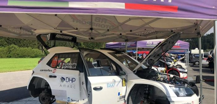 Pienone sotto le tende RB Motorsport.