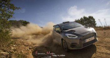 La Fiesta rally3 muove i suoi primi passi in terra di Sardegna. (Foto Francesco Morittu)
