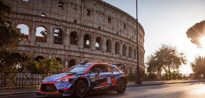 Uno scorcio del Roma Capitale la gara che ha ridato il via alle serie internazionali.